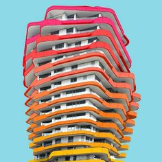 Vibrant & Colorful Architecture Photography – Fubiz Media #inspiration www.agencyattorneys.com
