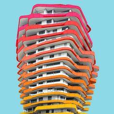 Paul Eis, el fotógrafo de la arquitectura colorida (Yosfot blog)