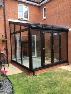 ags windows newton abbot matt brown aluminium 3 pane bifold bifolding door with colour match. Black Bedroom Furniture Sets. Home Design Ideas
