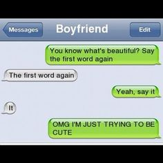 Boys Should Not Try To Be Cute... Because They Are Not. - Posted in Funny, Troll comics and LOL Images - LOL FUNS