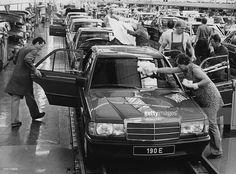 Autoproduktion Mercedes 190 E- 1987