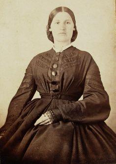 CDV, ID'dNane Trice Payne. ca. early 1860s. via eBay.