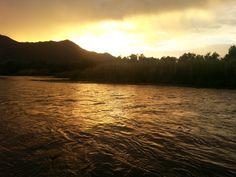 Salt River at sunset