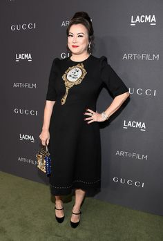 Actress Jennifer Tilly attends the 2016 LACMA Art + Film Gala honoring Robert Irwin and Kathryn Bigelow presented by Gucci at LACMA on October 29, 2016 in Los Angeles, California.