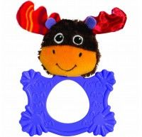 TOMY LAMAZE Mortimer the MOOSE Teethimal teething ring rattle baby toy - Developmental Baby Toys - Best baby care Crib Toys, Baby Toys, Baby Teethers, Cute Plush, Teething Toys, Baby Rattle, Nursery Room Decor, Plush Animals, Cute Baby Clothes