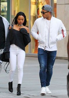 Karrueche Tran and her RUMORed boyfriend, Memphis Depay...