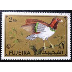 Fujeira, Birds, 1972, 3 Riyals, multicolour, used