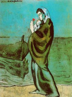 Picaso, Mother and Child on the Seashore 1902
