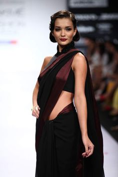 #lakmefashionweek Mumbai  Pernia Qureshi Autumn/Winter 2012 #amyjackson for Pernia Qureshi -- For the first time in India customers will be able to shop straight off the runway. The collection is available on the website at lfw.perniaspopupshop.com SHIPPING WORLDWIDE $580 approximately
