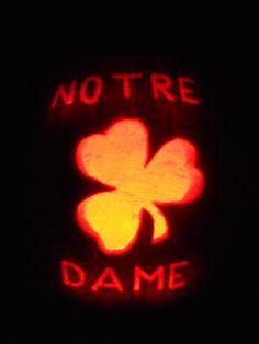 Notre Dame Pumpkin Carvings Fall Pumpkin Carving Halloween Pumpkin