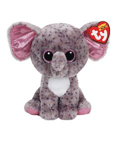 dc1c433c48c Ty Specks the Gray Speckled Elephant Beanie Boo