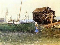 La chica pescadora Dennis Miller Bunker