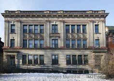 Bourget Building, 1230 de la Montagne street, Montreal, built in 1914