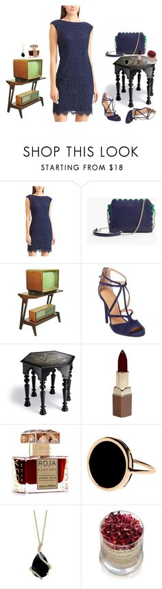 """collage"" by lauracabrera-2 ❤ liked on Polyvore featuring Chaps, Talbots, Halston Heritage, Frontgate, Fashion Fair, Roja Parfums, Ginette NY, Effy Jewelry and Lola's Apothecary"
