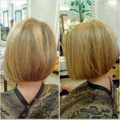 Bob haircut for fine hair