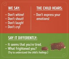 16 phrases your child won't take the way you meant them You Meant, My Boys, Your Child, Children, Kids, Parenting, Babies, Feelings, Sayings
