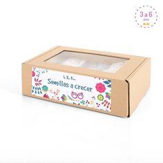 Semillas a crecer! Box dedicada a las plantas para que los niños experimenten de…