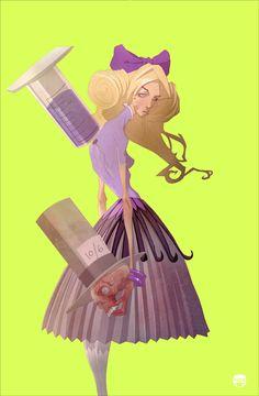 Alice in wonderland. Kizer.