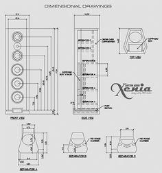 HiVi F5 / SD1.1A DIY Center Channel Speaker Enclosure