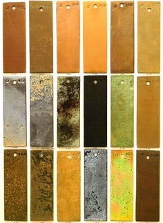Special finishing corten steel bronze copper brass Special paint finishes