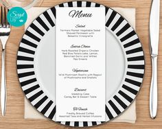 Menu Templates Free Microsoft Wedding Menu Printablewedding Menu Downloadwedding Menu Template .