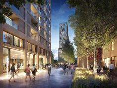 White City scheme by Eric Parry Architects. DBOX 2012