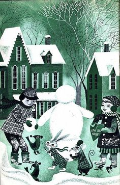 1955 Coronet Magazine, illustrated by Art Seiden