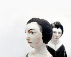 AKIO TAKAMORI, PARISIAN WOMAN & WOMAN 2012: porcelain sculptures.
