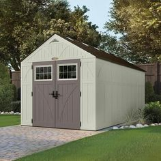 Suncast - Tremont Storage Shed Ft. x 13 Ft.) - - Home Depot Canada