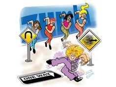 Leave it to our humor columnist to turn the latest exercise craze into a full-contact sport.