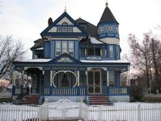 interiors of victorian houses | Taylor Ray House - Gallatin, Missouri - Victorian Houses on ...
