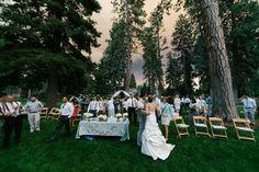 Photography: Josh Newton - www.joshnewton.com/  Read More: http://www.stylemepretty.com/2014/06/10/wildfire-makes-for-dramatic-wedding-photos/