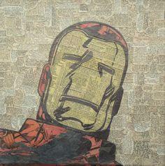 Collage de Iron Man por MikeAlcantara.