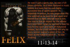 Interview - FELIX by Elizabeth Reyes