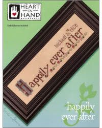 Happily ever after wedding cross Stitch