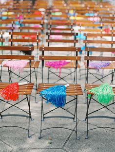 Sunset Color Wedding Ideas with Fun Garland Details — Santa Barbara Wedding Style Spanish Style Weddings, Classic Wedding Inspiration, Mediterranean Home Decor, Rental Decorating, Sunset Colors, Wedding Styles, Wedding Ideas, Unique Weddings, Wedding Unique