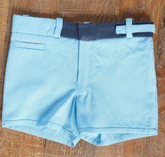 PIERROT BLUE SHORT  www.borntobeyoung.com
