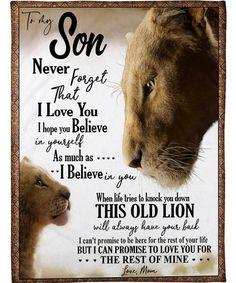 TO MY SON Sherpa Fleece Blanket - Forever Love Gifts Love Mom Quotes, My Son Quotes, Niece Quotes, Daughter Love Quotes, To My Daughter, Daughter Poems, Family Quotes, Quotes Quotes, Brother Quotes