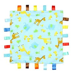 FLOL Blue with Giraffe, Elephant and Chick Tag, Taggy Blanket - Plain Blue Textured Underside No description (Barcode EAN = 8438499625343). http://www.comparestoreprices.co.uk/december-2016-3/flol-blue-with-giraffe-elephant-and-chick-tag-taggy-blanket--plain-blue-textured-underside.asp