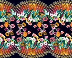 O tropicalismo das estampas de Adriana Barra - por Sorella Design - Industria Textil e do Vestuário - Textile Industry - Ano V
