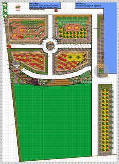 Garden Plan - 2013: early spring garden
