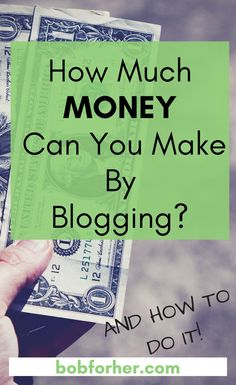 How Much Money Can You Make By Blogging?  We live in a digital age where there are so many ways to get passive income or extra money online. The opportunities to earn passive income are increasing and many have found ways to do it online.  Before I have m