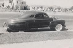 Jesse Lopez '41 Ford - Barris Kustom - 47 chrysler metallic green supercharged