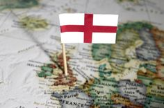 Happy St George's Day! #StGeorge #England #Map #StGeorgesDay