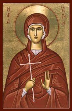St. Agnes Orthodox Icon