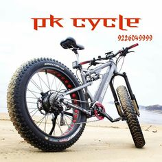 There is a full suspension fat bike