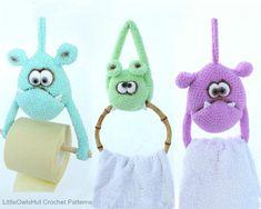 124 Crochet Pattern - Useful Monsters - Amigurumi soft toy PDF file by Borisenko Etsy Sewing Toys, Sewing Crafts, Crochet Monsters, Sewing Stuffed Animals, Animal Crafts, Yarn Colors, Slip Stitch, Single Crochet, Crochet Hooks