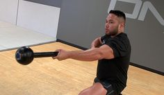Steel Mace Rotational Strength Workout | The unique dimensions of the Steel Mace allow for a variety of rotational movements that will hit your core like few implements can.
