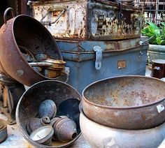 Old rusted treasures. Photo credit: Robyn Gordon