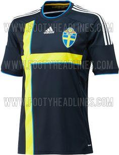 Sweden 2014 Home Kit Released + Away Kit Leaked - Footy Headlines